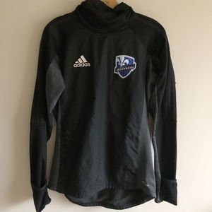 Impact Montreal Adidas ClimaWarm Soccer Hoodie